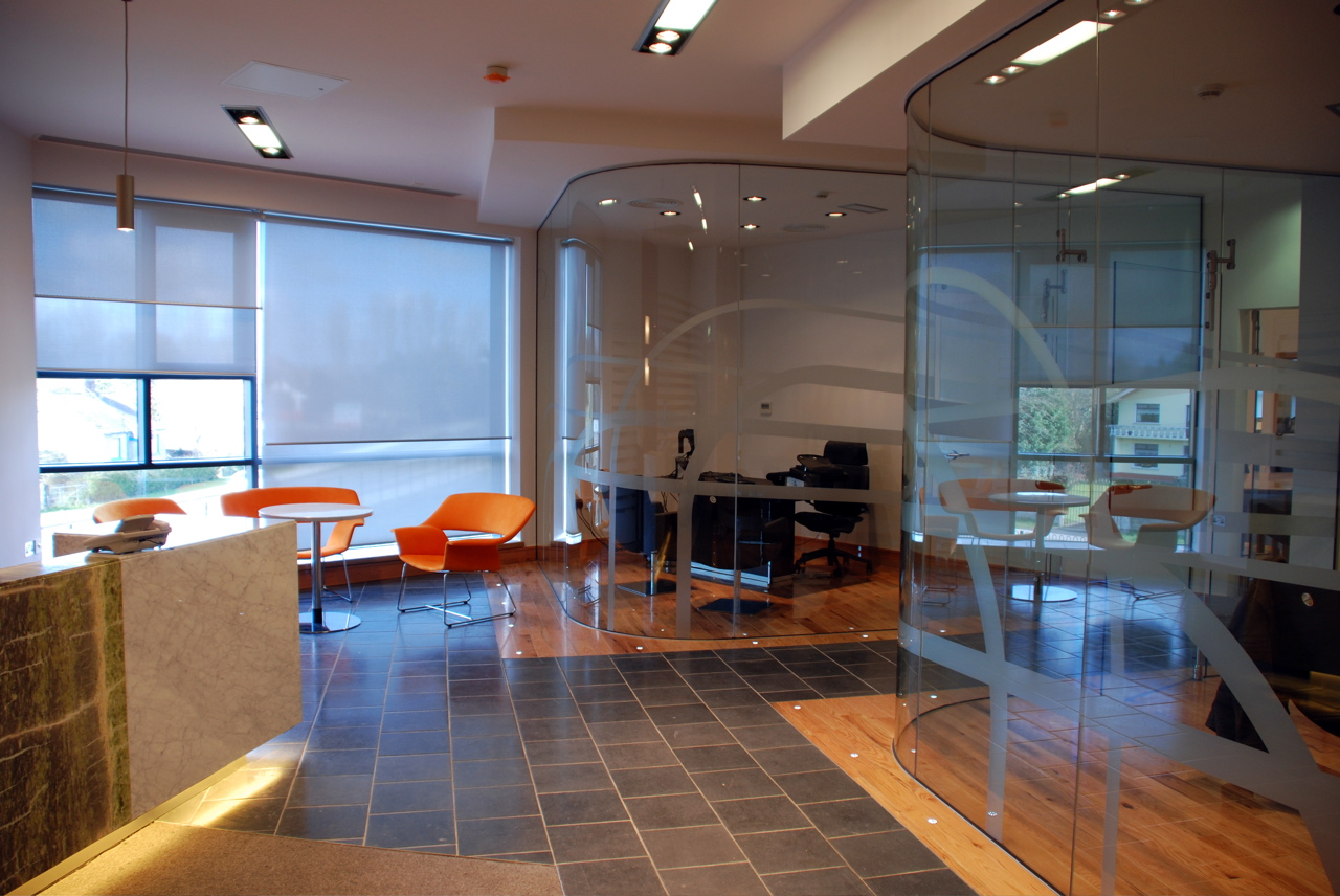 Fergal mcgirl architects ashbourne office fit out co meath for Office fit out