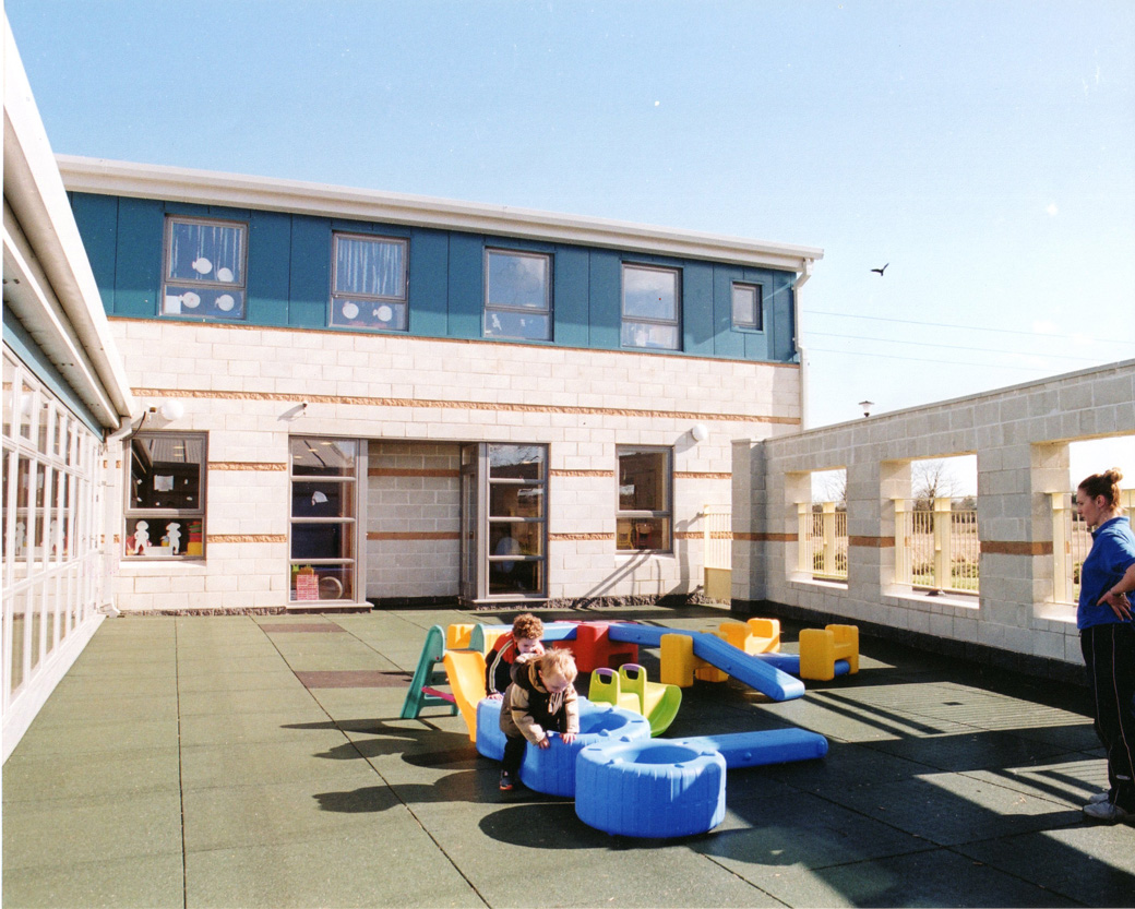 jamestown childcare - outdoor courtyard